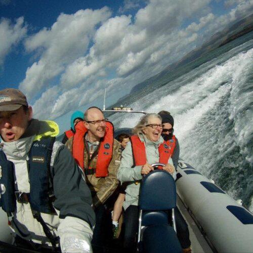 Rib Ride or Seawake